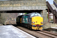 Railways DRS Bridge of Allan 20160229