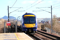 Railways Scotrail Edinburgh Park 20160222