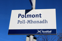 Railways Scotrail Polmont 20160203