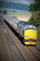 Railways DRS 37425 37218 Plean 20150928