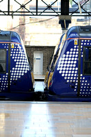 Railways Scotrail Glasgow Queen Street 20150922