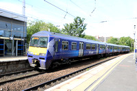 Railways Scotrail Coatbridge Sunnyside 20150818