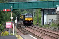 Railways WCR Dunblane 20150719