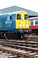Railways Preserved Bo'ness 20020 20150627