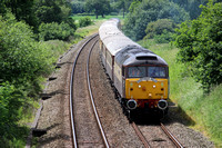 Railways DRS Northern Belle Crewe 20140608