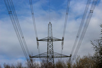 Pylons Wales Menai Bridge 20140408