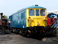 Railways Preserved Crewe 20110423