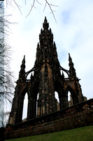 Travel Scotland Edinburgh Scott Monument 20160225