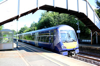 Railways Scotrail Polmont 20150807