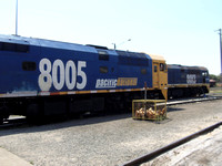 Railways Australia Pacific National Port Waratah 20130926