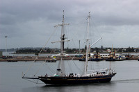 Shipping Australia Newcastle Young Endeavour 20140327
