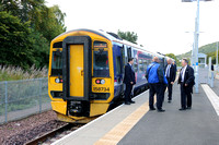Railways Scotrail Tweedbank 20150925