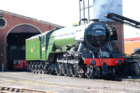 Railways Flying Scotsman Bo'ness 20160516
