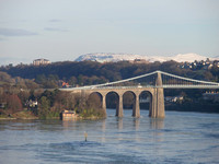 Travel Wales Menai Bridge 20100104