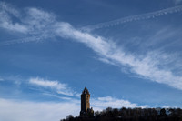 Travel Scotland Clouds Wallace Monument 20180119