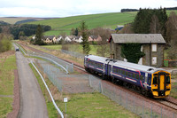 Railways Scotrail Fountainhall 20170414