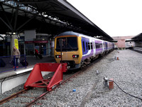 Railways Northern Manchester Airport 20120421